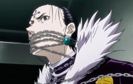 """O cerco aperta para Kuroro, o líder da Aranha, que precisa se submeter as regras do  """"cara da corrente"""" para sobreviver."""