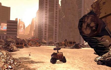 O fim do mundo chegou e sobrou apenas lixo para o último robô da Terra coletar.