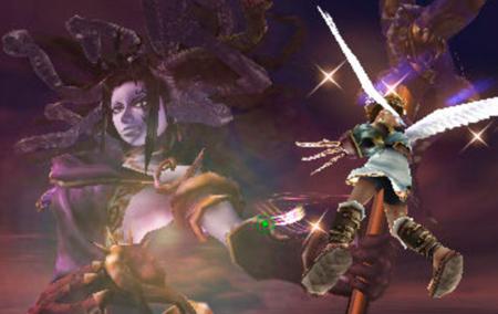 Medusa é uma antiga deusa que Pallutena derrubou ao mundo inferior.