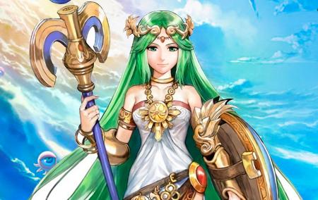 Pallutena é a deusa da luz que os Ícaros devem proteger!