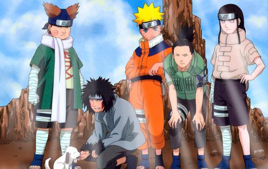 O time formado por Shikamaru.
