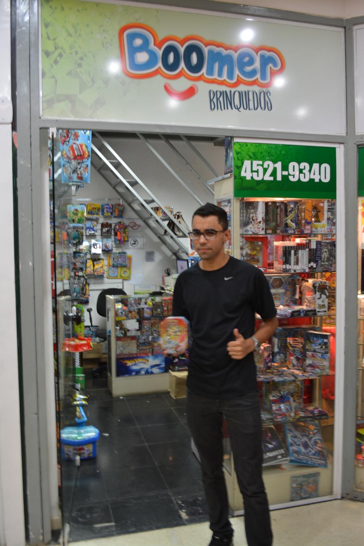Christian, vencedor do Torneio de Pokémon 3DS.