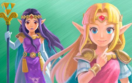 Entre a luz e a escuridão: Zelda e Hilda são o início de um possível multiverso em The Legend of Zelda.