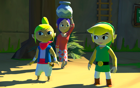 Tetra, a pirata mais corajosa do Great Sea, aparece para ajudar Link a resgatar sua irmã!