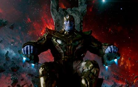 Thanos é a ligação dos Guardiões com o Universo Marvel.