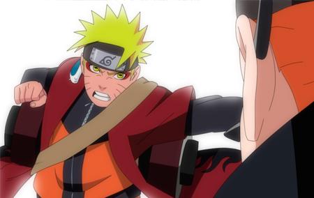 Naruto ativa o modo sennin!